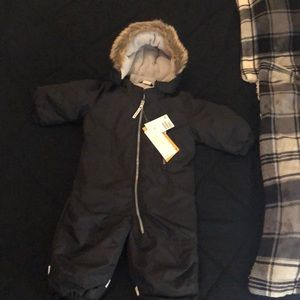 Padded snow suit